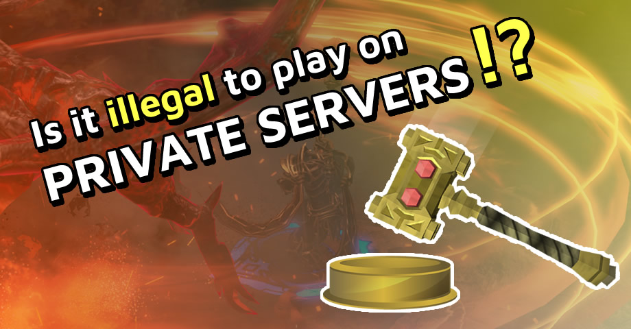 Legality of private servers : wowservers - reddit